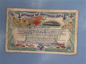 UNITED STATES NAVY Military Memorabilia DOMAIN OF NEPTUNES REX